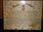 Angel Baby Memorial Wooden Sign Handmade Unique Item Personalised Plaque Tiny Footprints Miscarriage Stillborn child